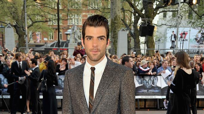 Star Trek UK Premiere 2009 Zachary Quinto