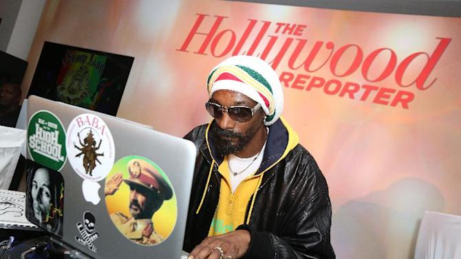 Snoop Dogg, AKA Snoop Lion, performs at The Hollywood Reporter Nominees' Night Insider at Spago on Monday, Feb. 4, 2013, in Beverly Hills, Calif. (Photo by Casey Rodgers/Invision for The Hollywood Reporter/AP Images)