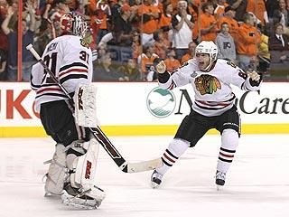 Young talent powers Chicago to Stanley Cup