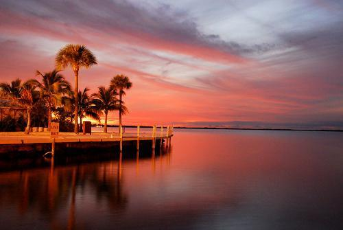 #Daydream: Sunset in Key Largo, Florida