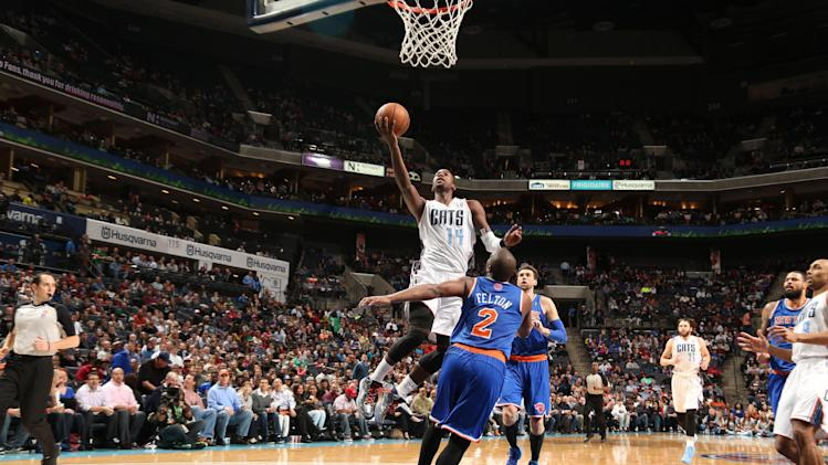 Jefferson lifts Bobcats past Knicks, 108-98