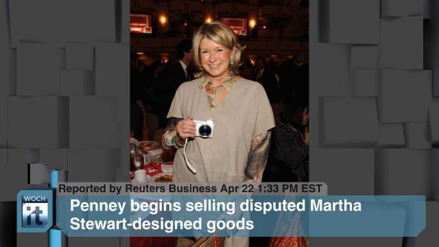 Penney News - J.C. Penney Co Inc, Martha Stewart-designed, NEW YORK