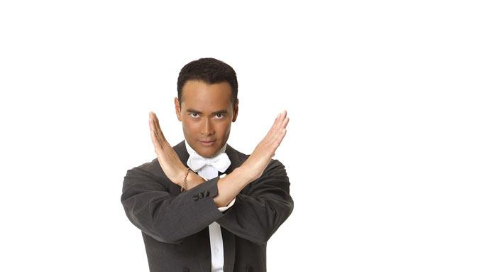 "Famously known as ""The Chairman"" and host of Food Network's ""Iron Chef America,"" Mark Dacascos competes in season 9 of ""Dancing with the Stars."""
