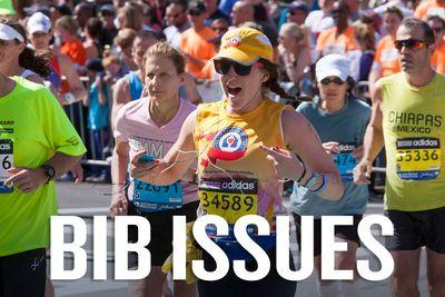 Marathons remind us of the problems with bibs