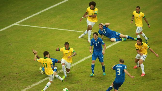 Italy v Brazil: Group A - FIFA Confederations Cup Brazil 2013