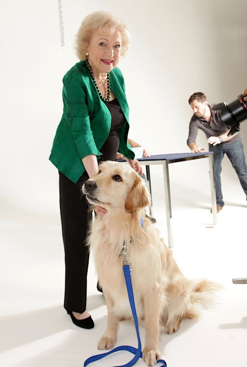 Betty White Fashion Shoot For The Lifeline Program