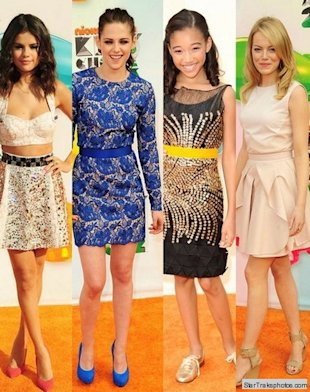 selena gomez kstew amandla stenberg emma stone