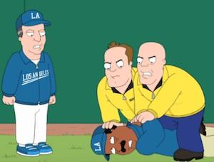 Exclusive First Look: The Cleveland Show Takes the Field Alongside Some Major League Talent