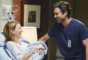 Ellen Pompeo, Patrick Dempsey | Photo Credits: ABC