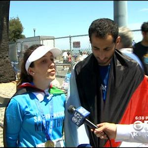 Runners From Gaza Compete In San Francisco Marathon