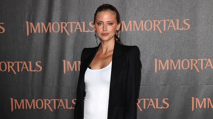 Immortals 2011 LA Premiere Estella Warren