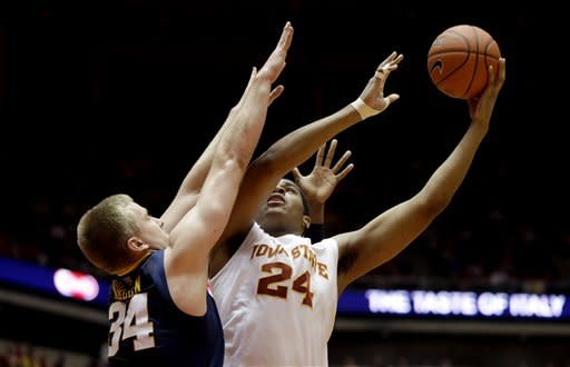 Iowa State holds off West Virginia 69-67