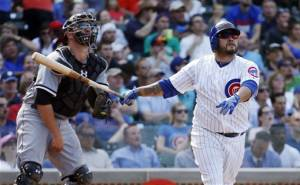 Navarro hits 3 HRs, Cubs pound White Sox 9-3