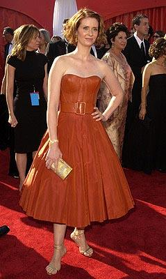 Cynthia Nixon 55th Annual Emmy Awards - 9/21/2003
