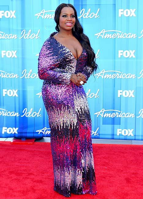 Fantasia Suffers Near Nip Slip at American Idol Finale