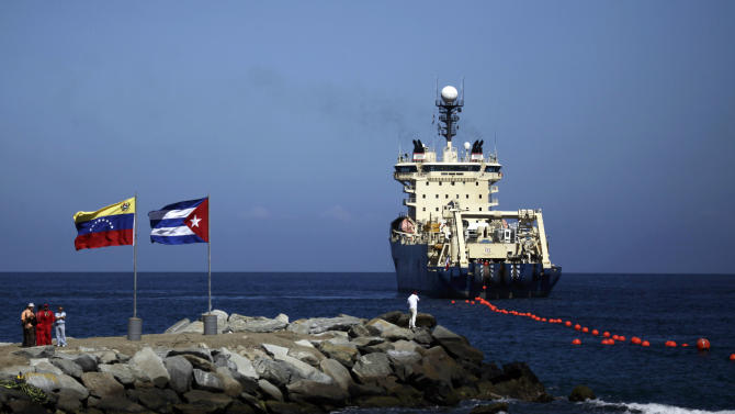 Cuba confirms undersea cable carrying data traffic