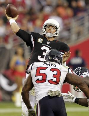 Arizona's defense takes charge in win over Texans
