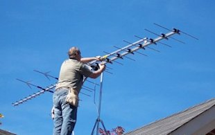 Get A TV antenna installed for true high definition TV for free!