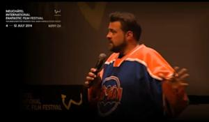 """Video screenshot: Kevin Smith talks about """"Star Wars: Episode VIII"""" at the NIFFF  NIFFF Livestream - Kevin Smith Livestream 2014"""