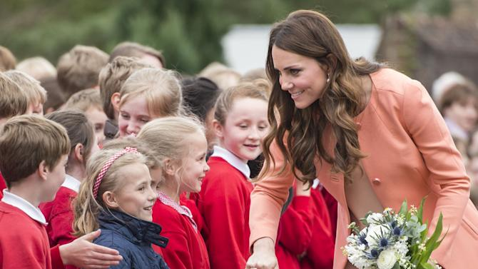 The Duchess Of Cambridge Visits Naomi House
