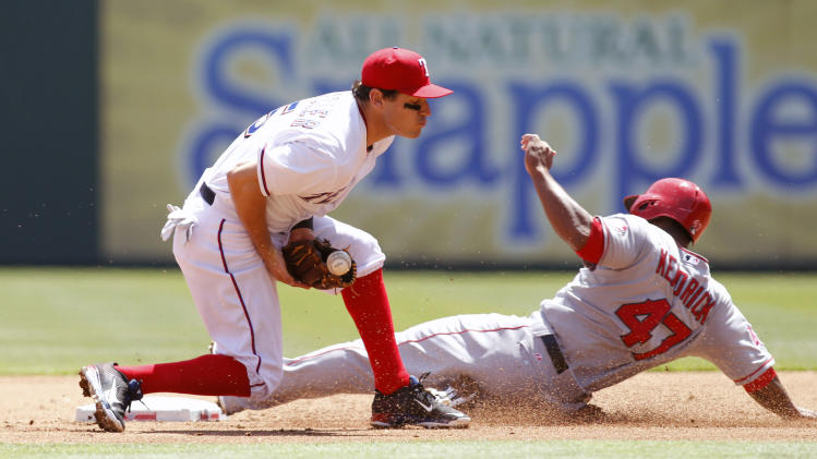 MLB: Los Angeles Angels at Texas Rangers