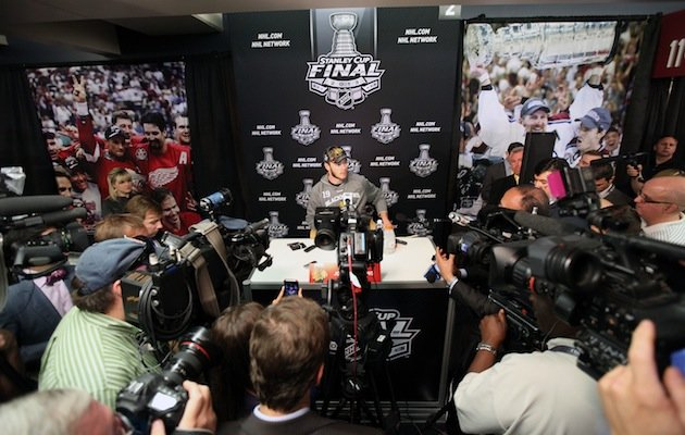 Stanley Cup Media Day Notebook: Chiarelli On Rask Trade; Lucic Confident Again; Chicago Management's Team Effort