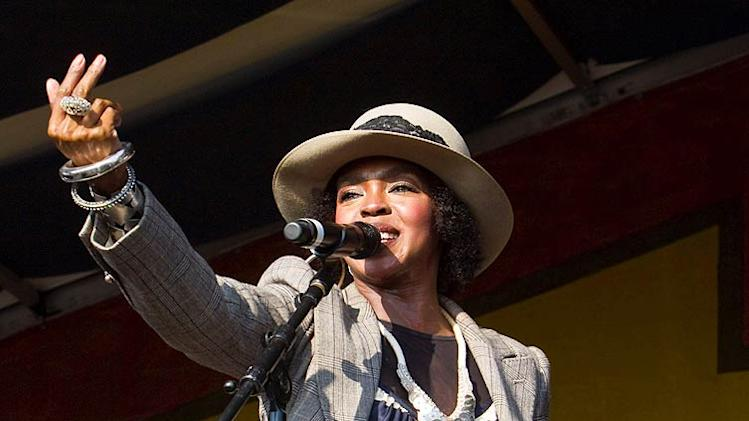 Lauryn Hill NO Jazz Fest