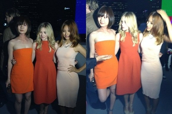 Lee Hyori-Bae Doona-Chloe Moretz 'The three beauties' gorgeousness