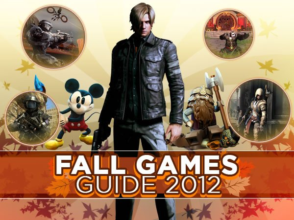 Fall Games Guide 2012