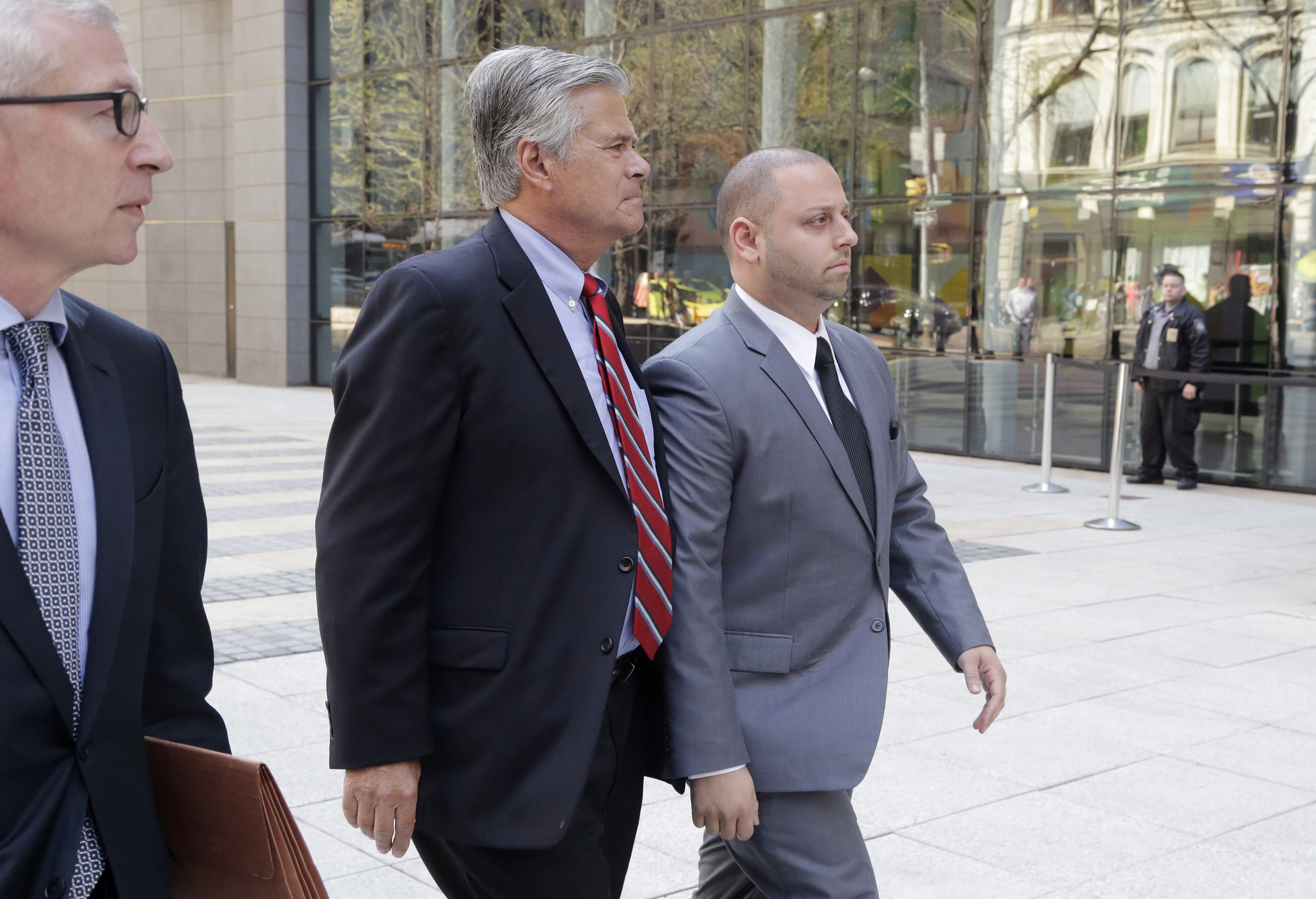 NY Senate leader says he is innocent of corruption charges