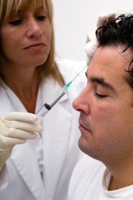 Over 300,000 men eliminated wrinkles with Botox injections in 2011.