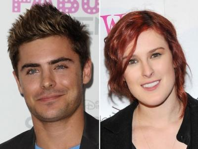 Zac Efron / Rumer Willis   -- Getty Premium