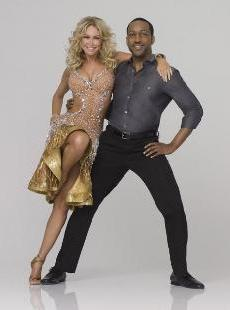 'Dancing with the Stars' - Jaleel White and Kym Johnson -- ABC