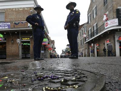 Police: 4 Wounded in Bourbon Street Shooting