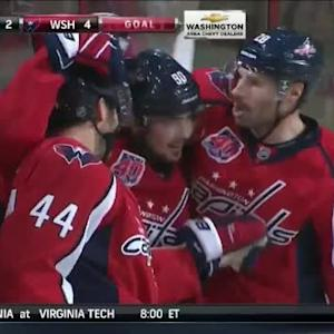 Evgeny Kuznetsov Goal on Chad Johnson (05:56/3rd)
