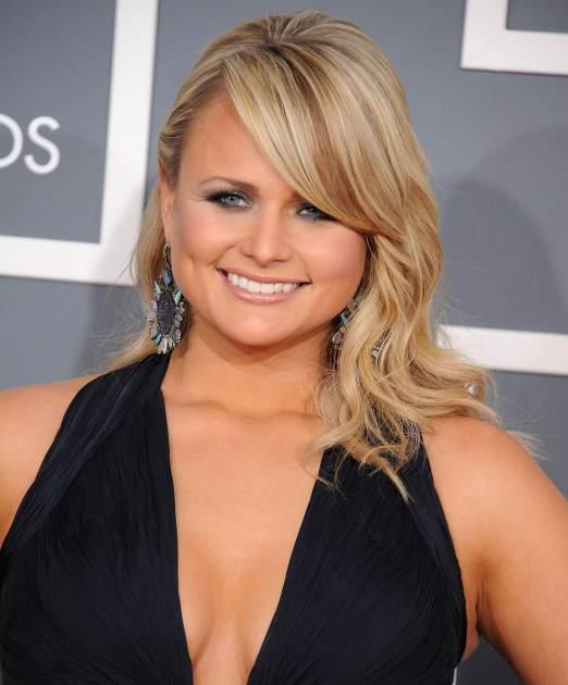 Miranda Lambert arrives to the 55th Annual Grammy Awards on February 10, 2013 in Los Angeles -- Getty Images