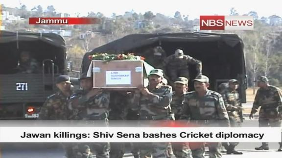 Jawan killings: Shiv Sena bashes Cricket diplomacy