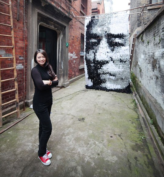 Meet Hong Yi :  Artist who carved Zuckerberg's face from books