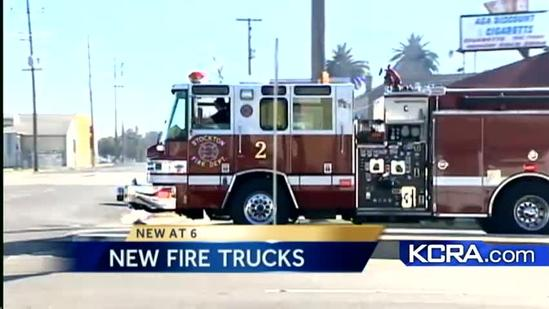 City of Stockton to buy four new fire trucks