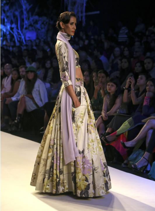 Manish Malhotra - Runway - Lakme Fashion Week Summer/Resort 2014