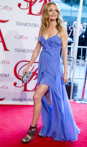 Heather Graham arrives at the CFDA Fashion Awards on Monday, June 4, 2012, in New York. (Photo by Charles Sykes/Invision/AP)