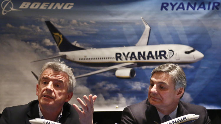 Boeing wins major 737 jet order from Ryanair