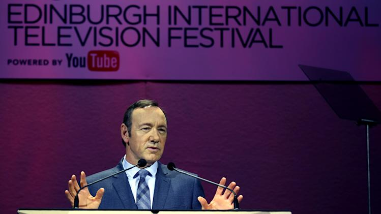 Spacey says TV must adapt to viewer demand or die