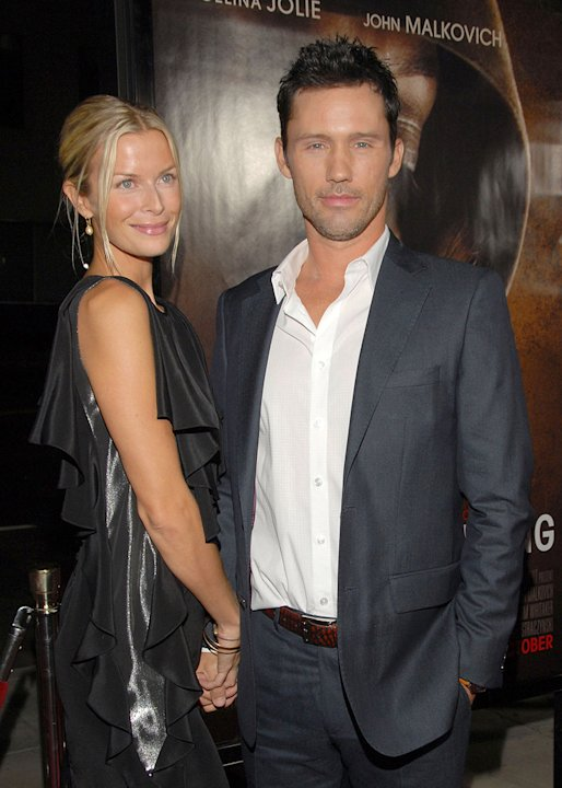 Jeffrey Donovan and Katherine Kovarik attend the Los Angeles premiere of &quot;Changeling&quot; on October 23, 2008 