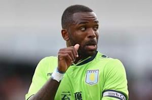 Aston Villa striker Bent available for Liverpool clash
