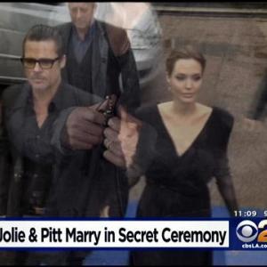 Pitt, Jolie Marry In Secret Weekend Wedding