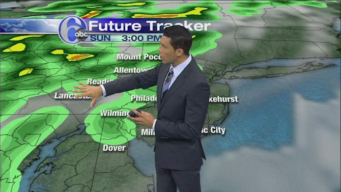 AccuWeather: Very Warm Today, More Humid Sunday