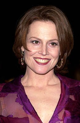 Sigourney Weaver at the Hollywood premiere of MGM's Heartbreakers