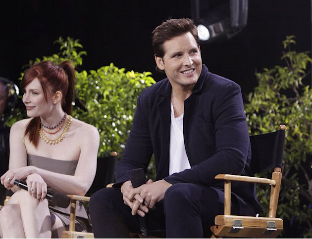 Bryce Dallas Howard and Peter Facinelli on &quot;Jimmy Kimmel Live's Twilight Saga: Total Eclipse of the Heart.&quot; 
