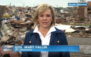 OK Gov. Fallin Worries of 'Red Tape'; Dole Slams Modern GOP